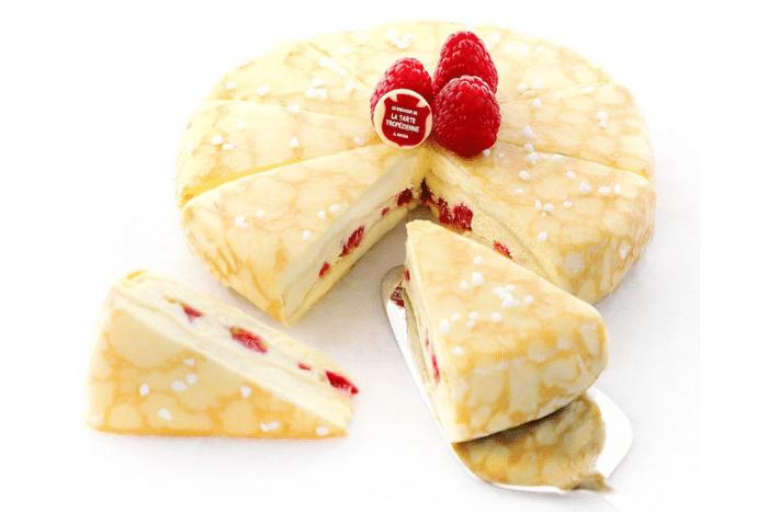 Gâteau de Crêpes Tarte Tropézienne