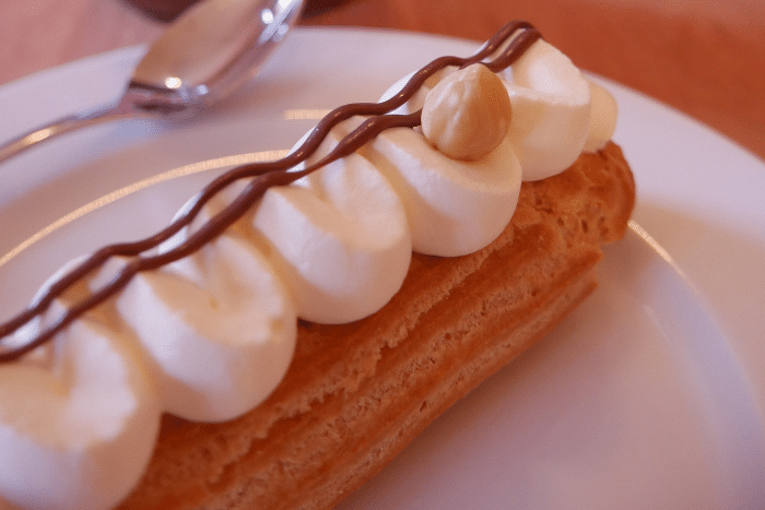 Eclairs Nutella Chantilly