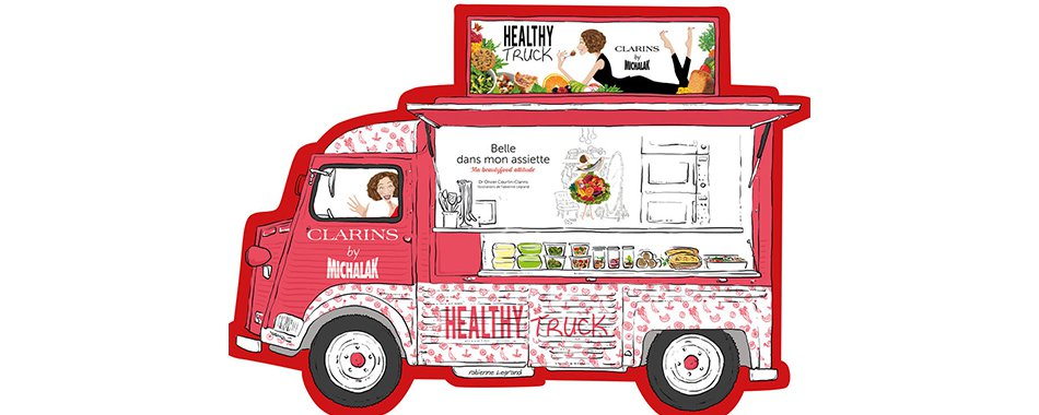 Foodtruck Christophe Michalak Clarins