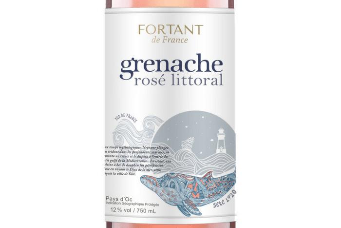 Grenache Rosé Littoral 2017 de Fortant