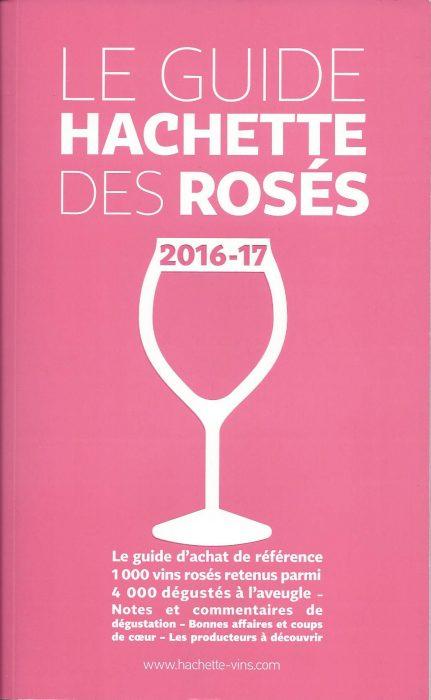 Le guide Hachette des Rosés