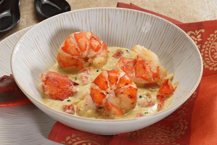 Blanquette de homard coco-gingembre