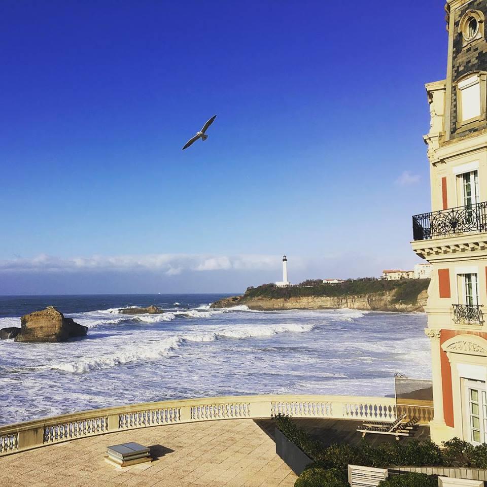 Rénovations à l'Hôtel du Palais de Biarritz