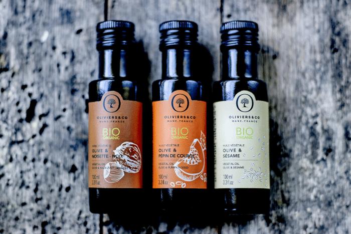 Les huiles végétales bio Oliviers&Co