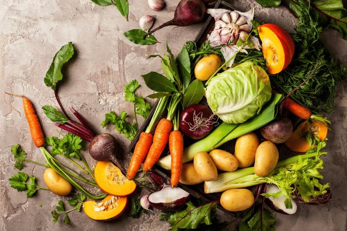 Les fruits et légumes d'hiver