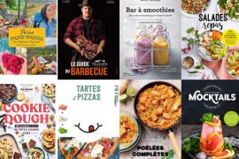 les livres de cuisine de juillet 2020