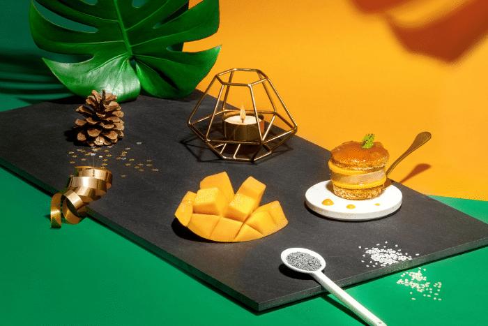 Délice de foie gras et mangue