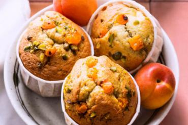 Petits gâteaux moelleux à l'abricot