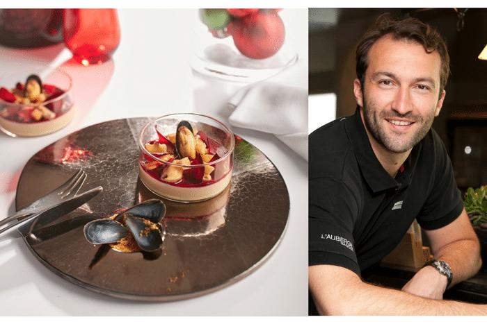 Pana cotta au foie gras de Cédric Béchade