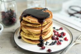 Pancakes à la crème de Parmigiano Reggiano