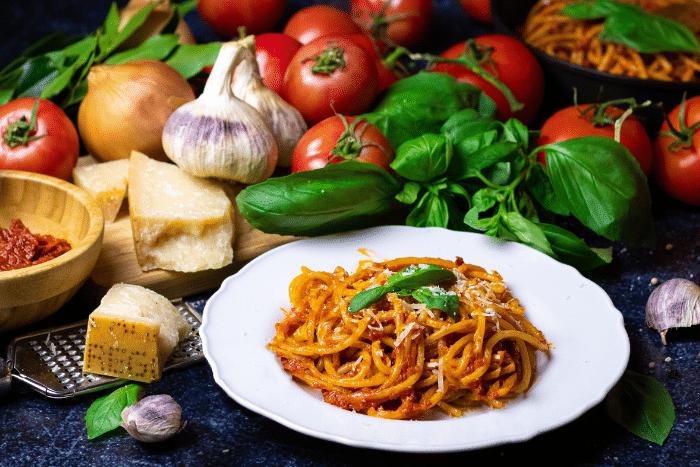 Spaghetti Guitare à la Puttanesca