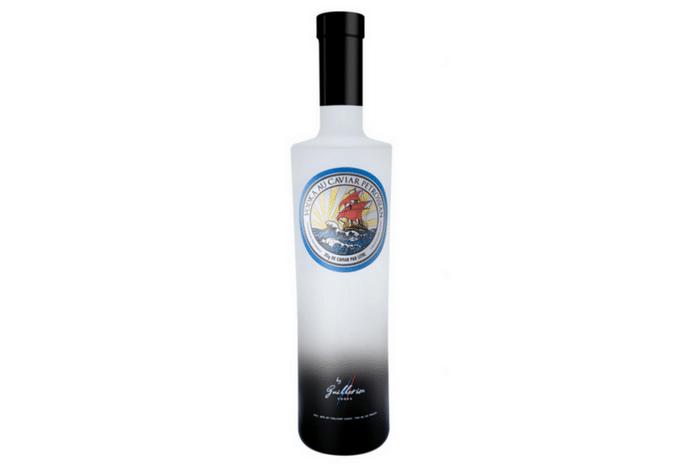 Vodka au caviar Petrossian by Guillotine