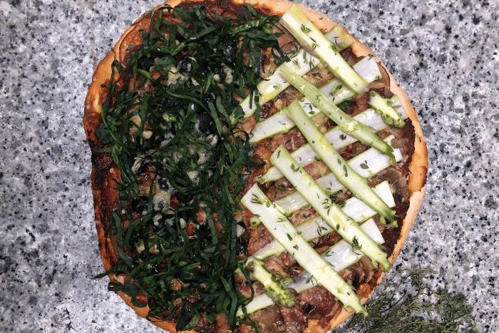 La pizza maison de Pierre Augé