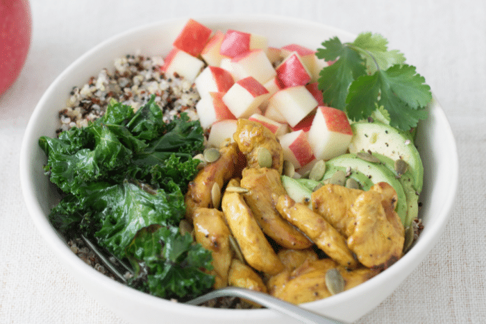 Poké bowl sucré-salé