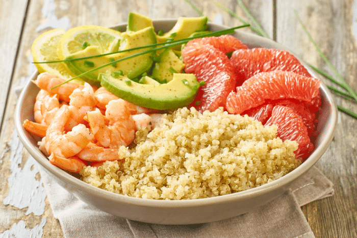 salade de quinoa