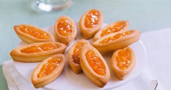 recette de Barquettes à la confiture d'abricots