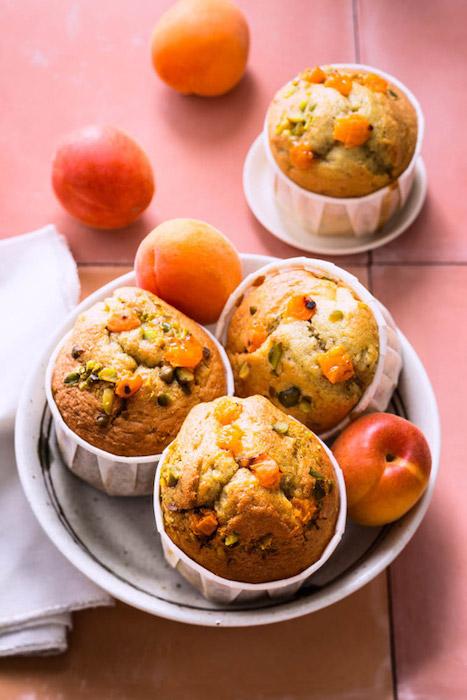 recette de Petits gâteaux moelleux à l'abricot