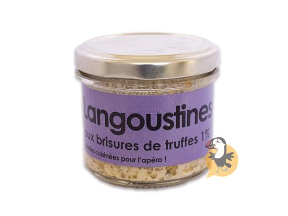 Rillettes de langoustines aux brisures de truffes