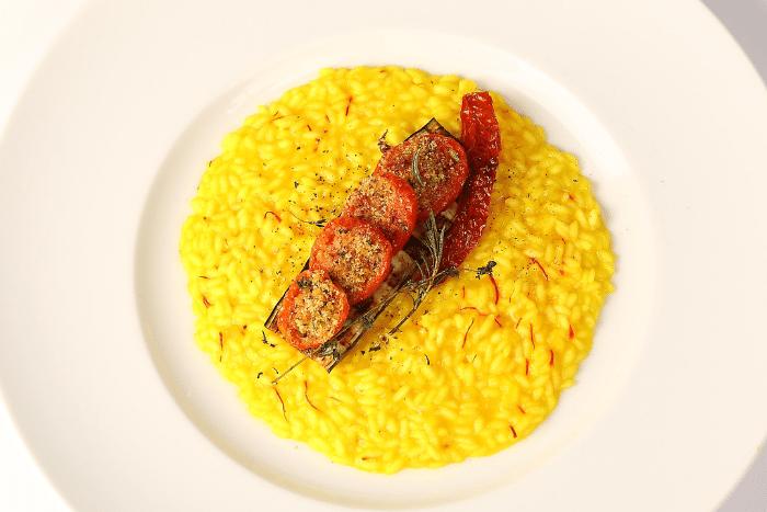 Risotto Carnaroli et confit de tomates