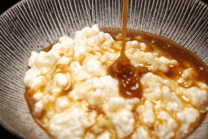 Le riz au lait au caramel