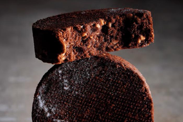 Sablé breton au chocolat et noisettes