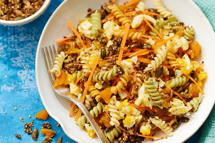 Salade de Torsettes aux abricots secs