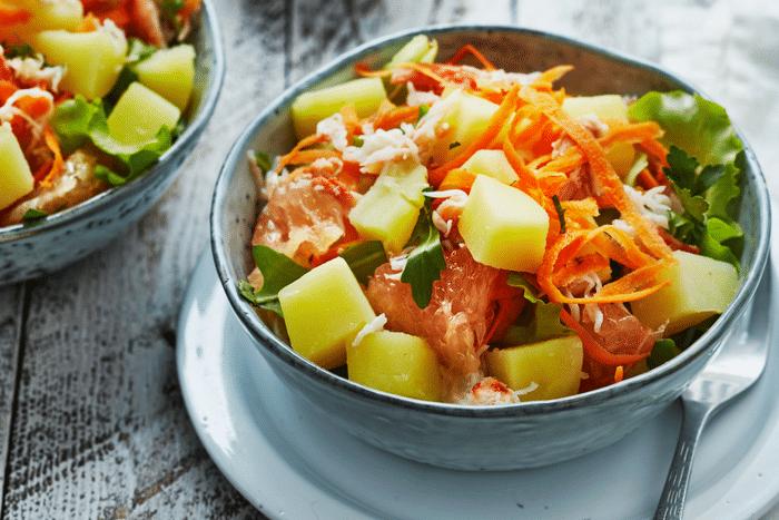 Salade de pommes de terre primeurs