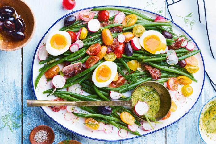 salade au chanvre