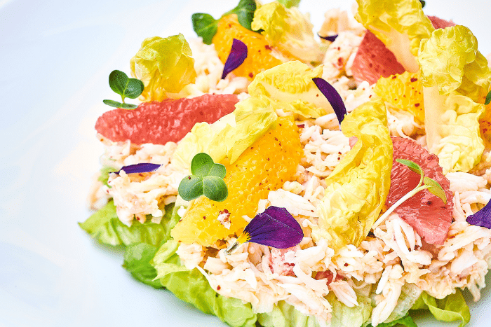Salade de King Crab