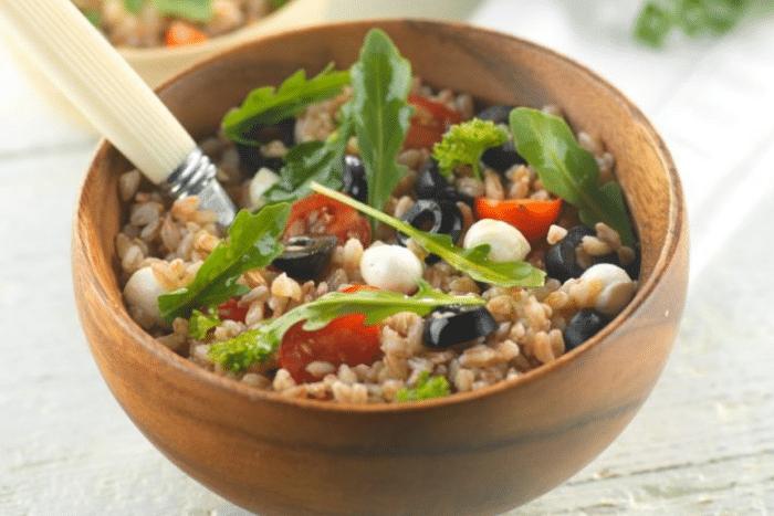 Salade d'épeautre farro
