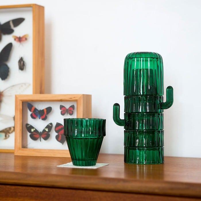 Service de verres cactus Saguaro