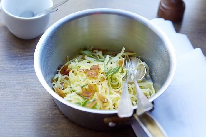 Spaghettis de pommes de terre