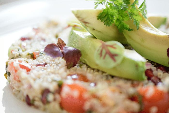 Taboulé de quinoa à la sauce chimichurri