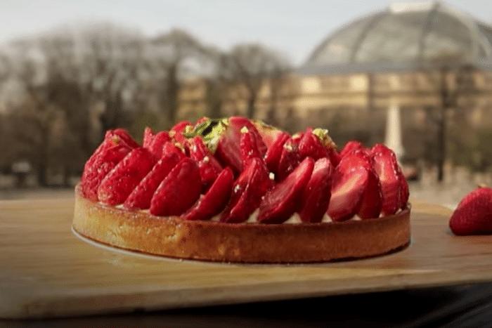 La tarte aux fraises d'Eric Kayser