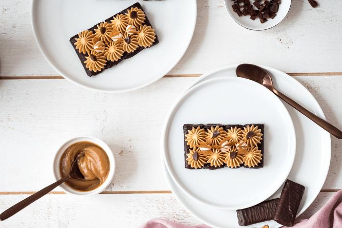 Tartelettes crêpes dentelle chocolat