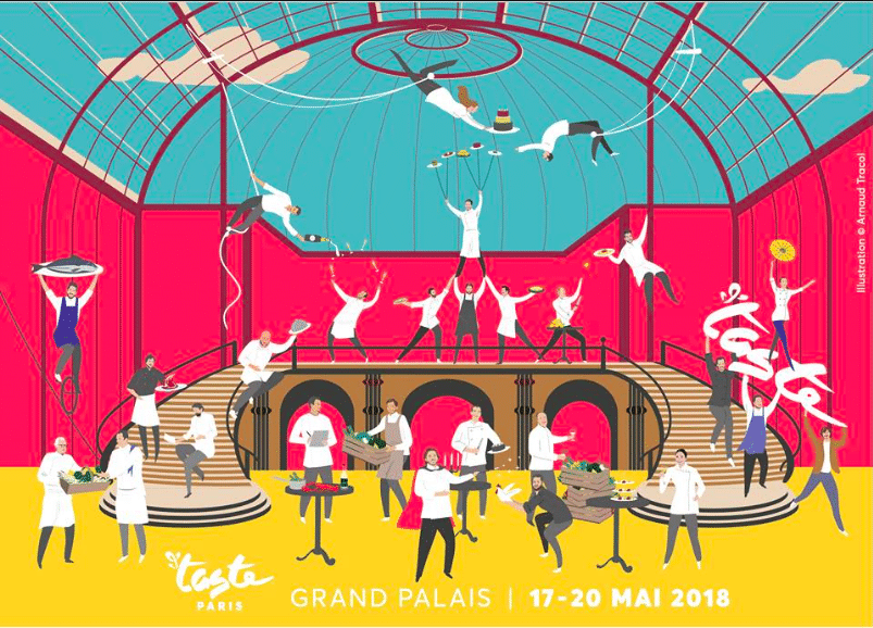 chefs de Taste of Paris 2018