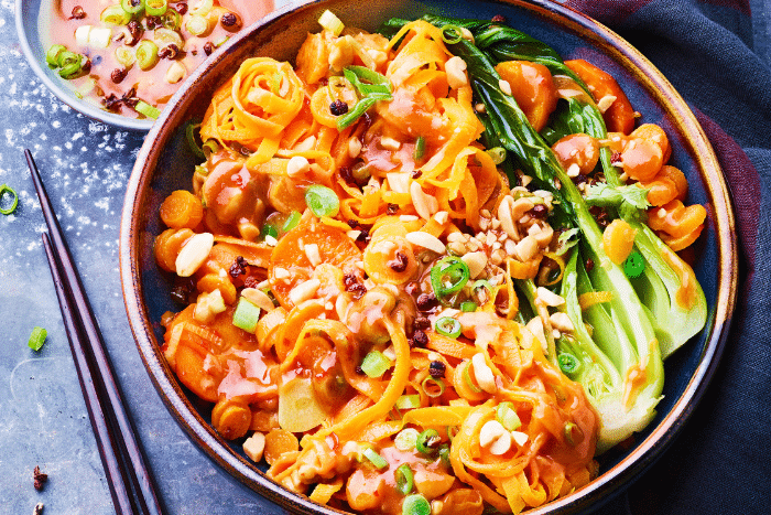 Wok de carotte