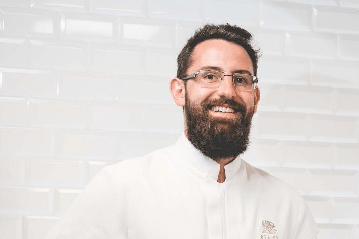 Yann Odic pâtissier du Byblos