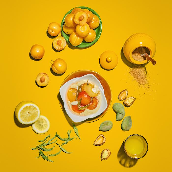 recette de Prunes jaunes au sirop