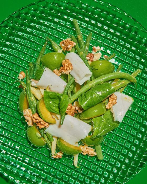 recette de Prunes vertes marinées au sel