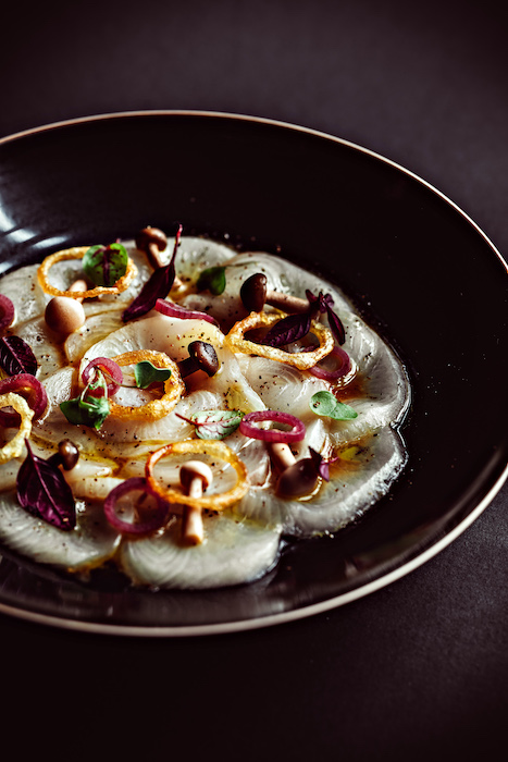 Carpaccio Yellow Tail