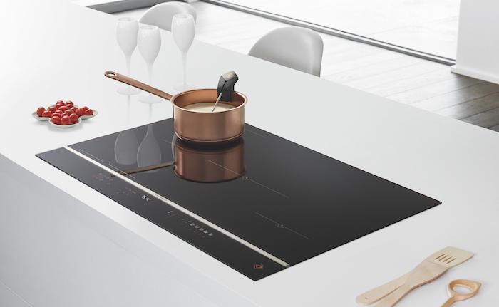 Table de cuisson avec sonde