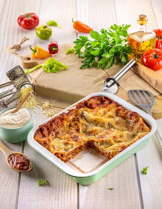recette de Lasagnes aux poivrons