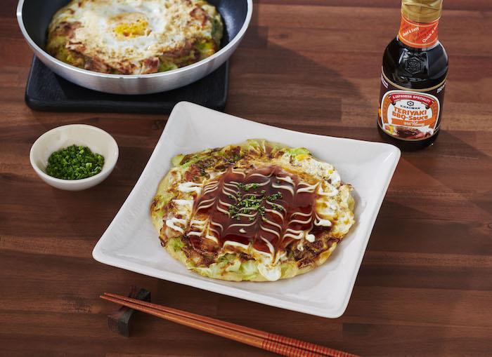 recette de Crêpes japonaises à la viande