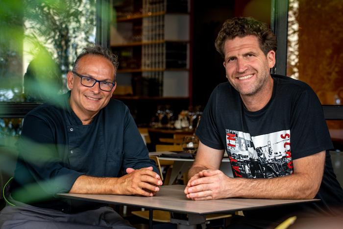 Philippe Sublet et Alexandre Mazzia
