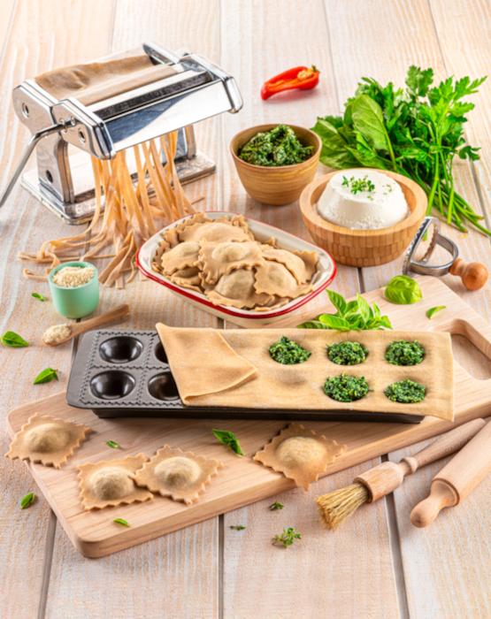 recette de Ravioli maison aux épinards et ricotta