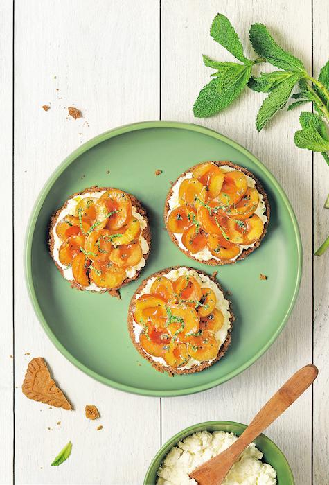 recette de Tartelettes de mirabelles sans cuisson