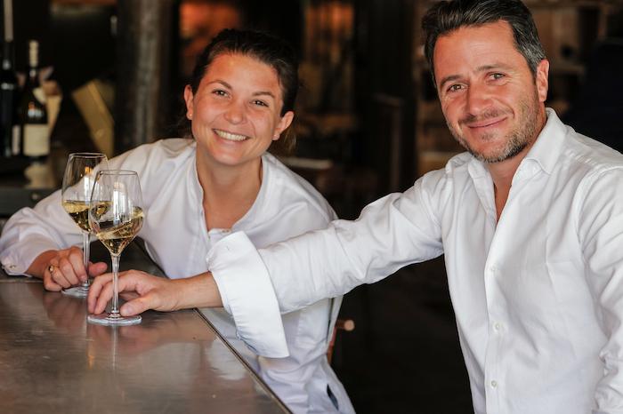 Mélanie Serre et Bertrand Guillou-Valentin