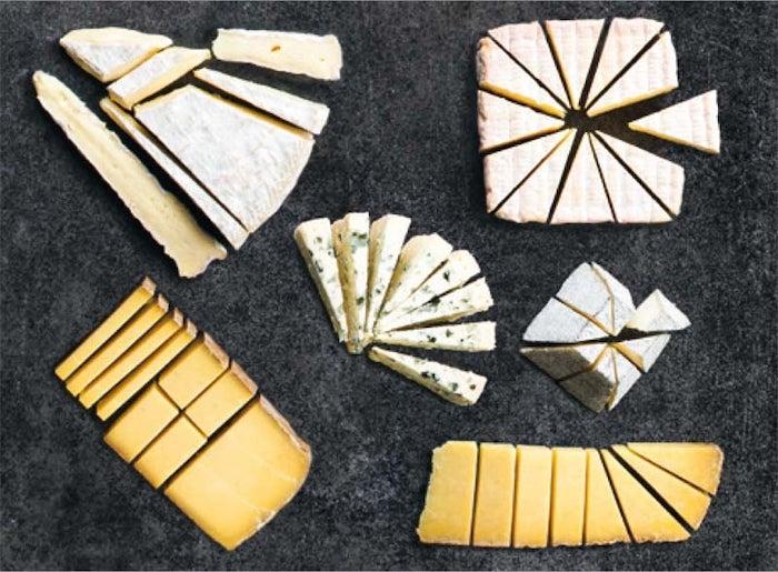découper correctement le fromage