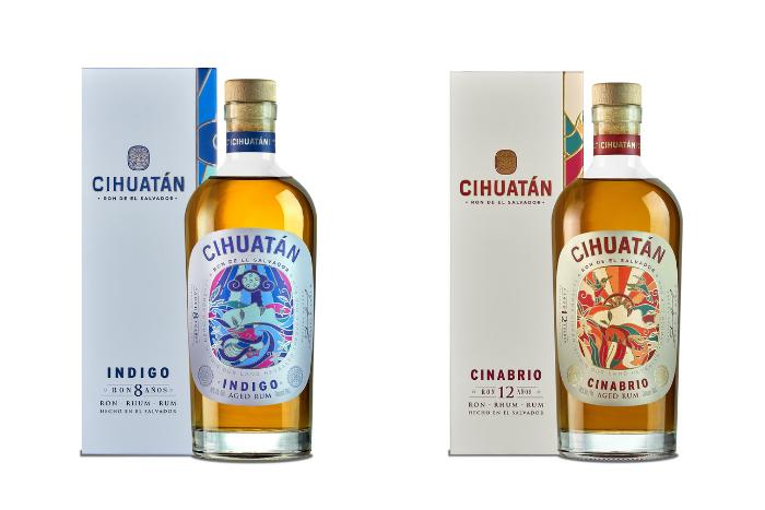 Cihuatán Indigo et Cinabrio